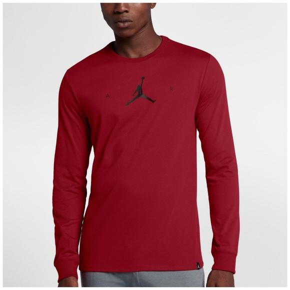 500da3c3c Jordan Shirts | Drifit Air Jumpman Long Sleeve Tshirt | Poshmark